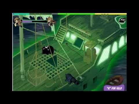 สกู๊ปปี้ดู - ผิดพลาดเยอะหน่อยนะครับเเต่มาดูกันเยอะนะครับ เกม Scooby Doo เเวะมาที่เพจ บ.ก ด้วย ครับ.