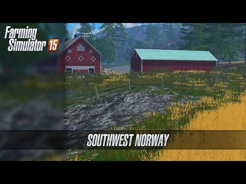 SouthWest Norway Map v0.9