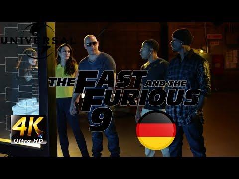 FAST AND FURIOUS 9 TRAILER (2021) GERMAN/DEUTSCH FAN MADE 4k
