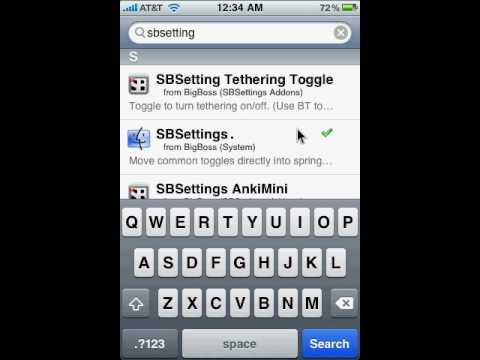 springboard - How To Get SpringBoard for iPhone / iPod Touch Jailbroken ONLY!!! In search put
