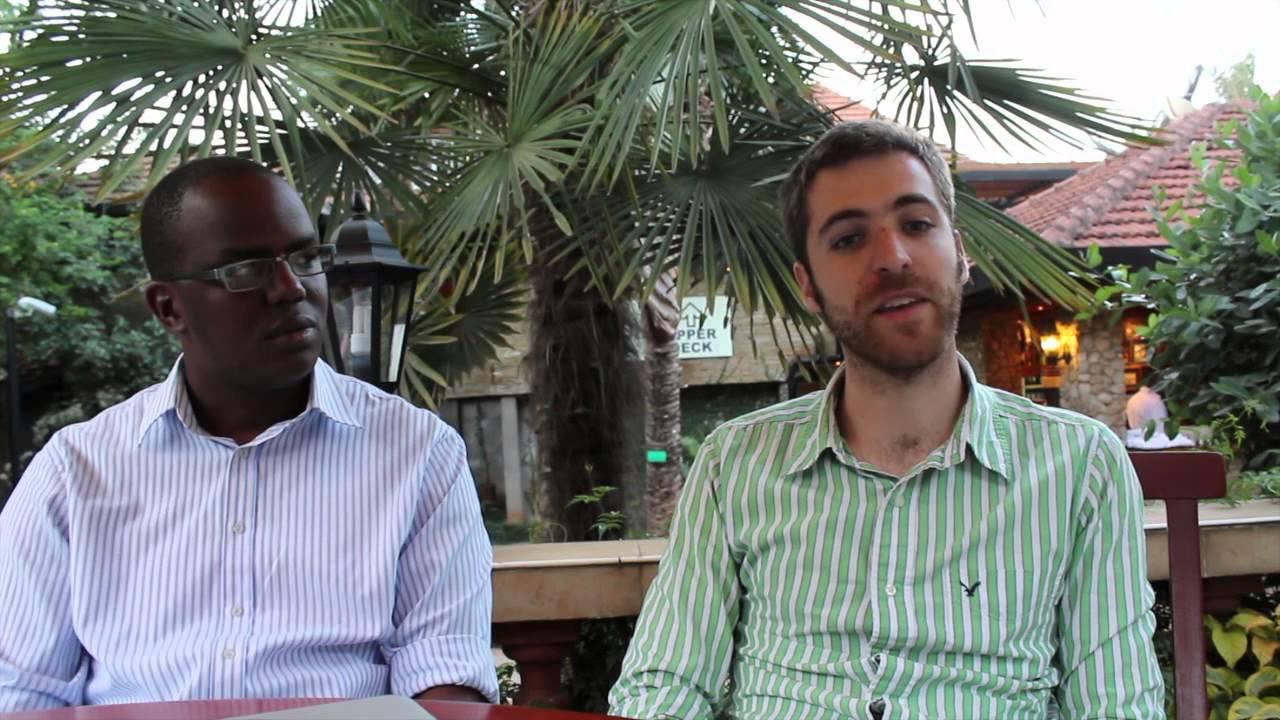Jeremy Gordon and Caine Kamau on Flashcast, a location aware ad tool for Nairobi's matatus