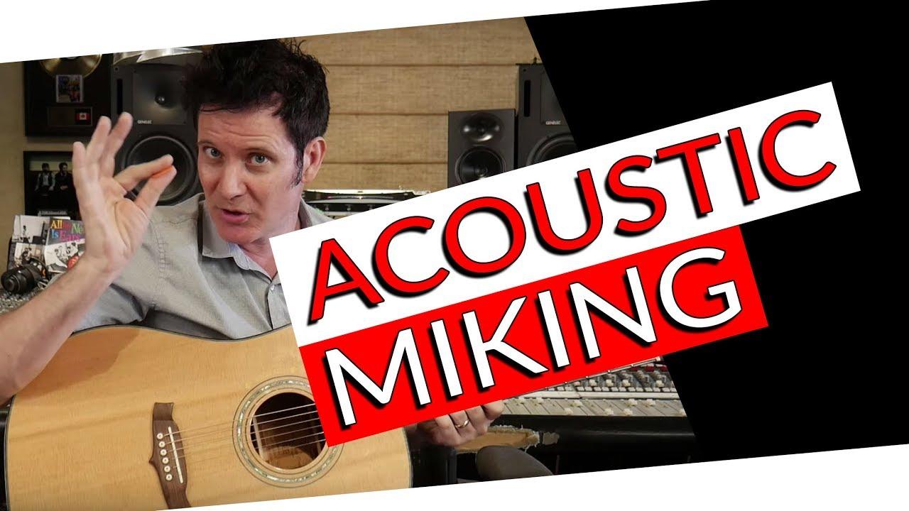 Acoustic Guitar Miking Techniques | FAQ Friday – Warren Huart: Produce Like A Pro