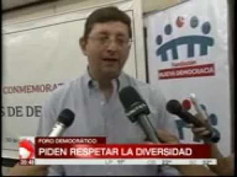 Oscar Ortiz: Foro Democratico pide respetar la diversidad – RED UNITEL