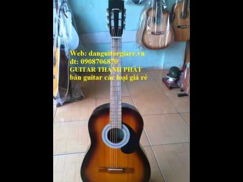 Shop bán đàn guitar giá rẻ tphcm , ban dan guitar go