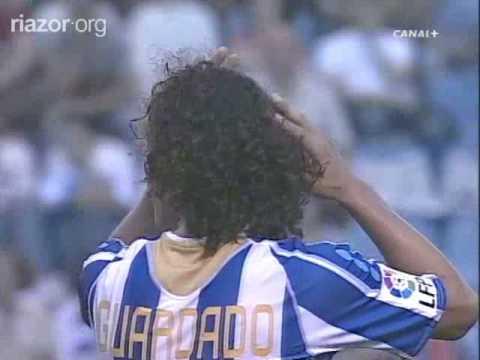 Debut del Almeria en la Liga Española (Almería 3 - 0 Deportivo)