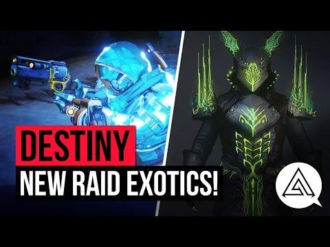 Destiny Age of Triumph | All Raid Gear, Weapons & New Exotics
