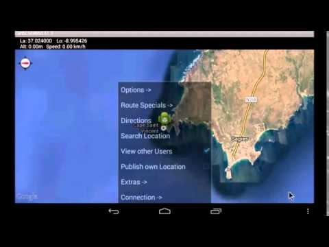 Video of GPS Tracker Info EarthLocation