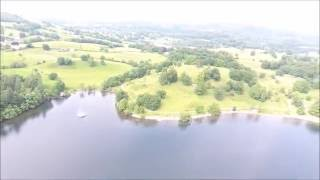 Windermere United Kingdom  City pictures : Drone Footage Lake District, UK, Windermere Lake