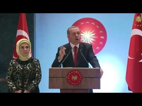 Cumhurbaşkanı Erdoğan'dan Cumhuriyet Bayramı Resepsiyonu