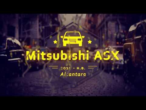 """Чехлы на Mitsubishi ASX, серии """"Alcantara"""" - серая строчка"""