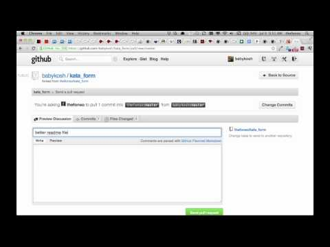 github part3 – Pull request
