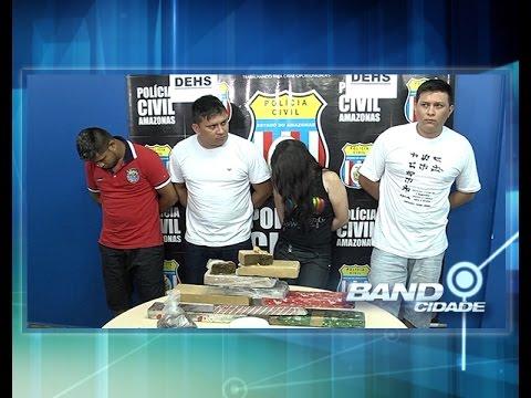 Polícia prende 4 pessoas suspeitas de homicídio de um comerciante