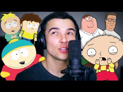 "Ariana Grande ""Problem"" (Family Guy/South Park Voices)"