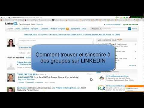 comment s'inscrire linkedin