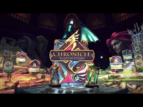 Chronicle: RuneScape Legends. Обзор-летсплей от Cr0n. Review