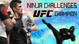 Video Ninja Challenges UFC Champion to MMA Fight MP3, 3GP, MP4, WEBM, AVI, FLV Februari 2019