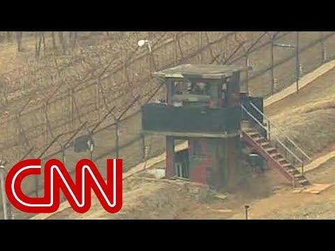 North Korean soldier flees by crossing dangerous DMZ