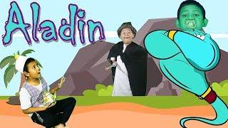 Video Aladin Dan Lampu Ajaib | Drama Dongeng Anak MP3, 3GP, MP4, WEBM, AVI, FLV Juli 2018