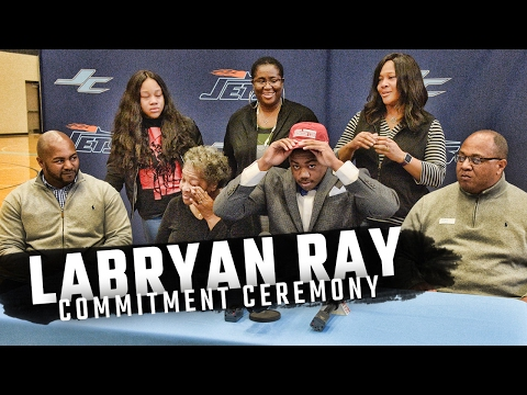 Watch as 5-star DE LaBryan Ray makes his commitment