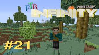 Minecraft FTB Infinity #21 | Tree Power