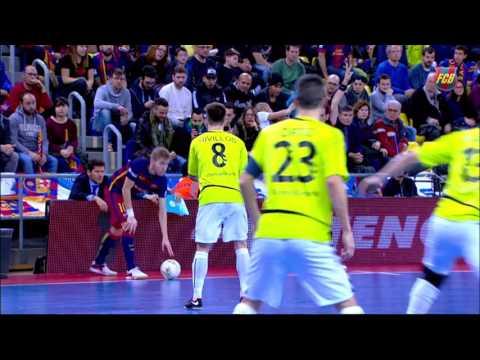 [HIGHLIGHTS] FUTSAL (LNFS): FC Barcelona Lassa – Inter Movistar (7-1)