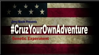 Taking The Daily Show with Trevor Noah's challenge this is my submission to the #CruzYourOwnAdventure