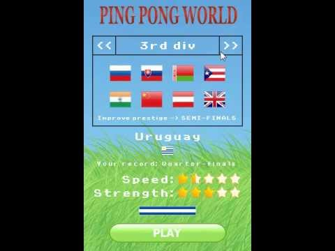 Video of Soccer Ping-Pong