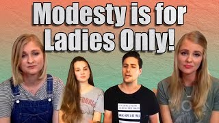 Video Only Women Have to be Modest! (Girl Defined X Paul & Morgan Reaction) MP3, 3GP, MP4, WEBM, AVI, FLV Agustus 2019