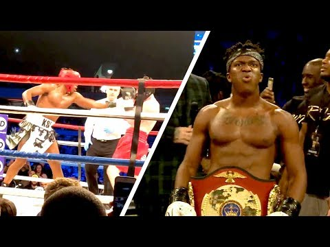 KSI KNOCKOUT! KSI vs WELLER FIGHT!! *EXCLUSIVE* RING SIDE FOOTAGE! February 3rd 2018 (видео)
