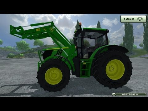 Farming Simulator 2013 Mod Review Contest John Deere 6150R with H360Loader by SamN(EN)