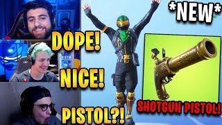 Streamers React to *NEW* Shotgun Pistol +