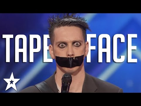 Tape Face Auditions & Performances | America's Got Talent 2016 Finalist (видео)
