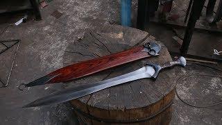 Video Forging a Bronze Age style sword, the complete movie. MP3, 3GP, MP4, WEBM, AVI, FLV April 2019