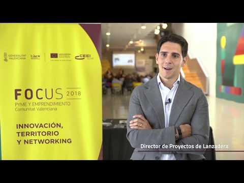 Tony Paños Director de proyectos de Lanzadera en #Focuspyme Conectando Startups[;;;][;;;]