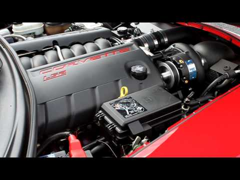 Vengeance Built 2006 C6 Corvette A&A Supercharger Idle/ Rev Clip
