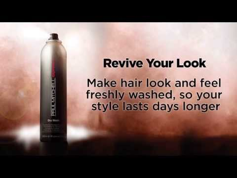 Paul Mitchell® International Trainer Noogie Thai shows you how to get the most out of dry shampoo - Dry Wash