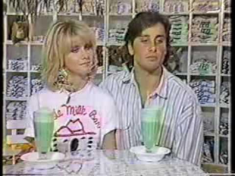 Olivia Newton-John and Matt Lattanzi Entertainment This Week 1985