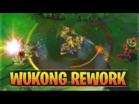 WUKONG REWORK Gameplay Guide - League of Legends