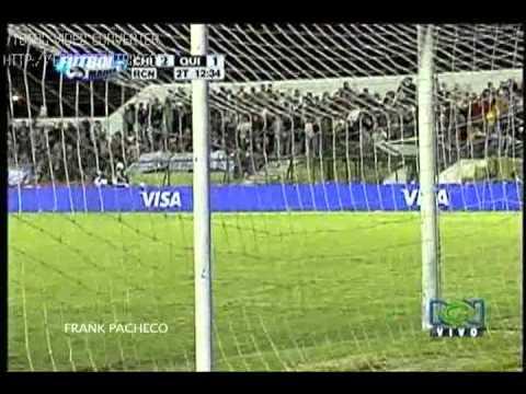Fútbol de Frank Pacheco