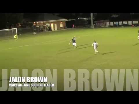 MSOC: Christopher Newport Senior Jalon Brown Breaks School's All-Time Scoring Record
