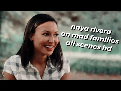 naya rivera on mad families (all scenes hd)