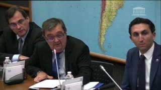 Littoral : Je suis intervenu en commission du développement durable sur une proposition de loi socia