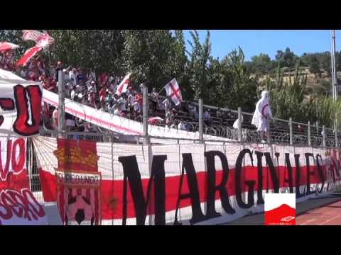 Banderazo previo a partido Curicó Unido - Rangers de Talca - Los Marginales - Curicó Unido