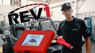 10. Rev1 Handheld ECU Tuner Install - SuperATV