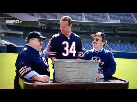 Peyton Manning is Baptized as a Bears Superfan