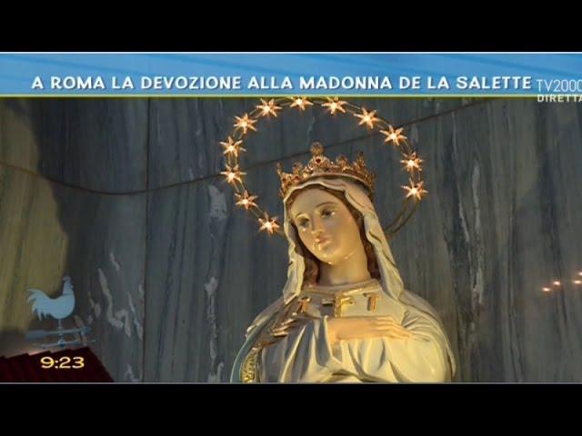 A Roma la devozione alla Madonna de La Salette