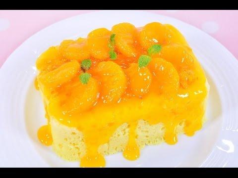 เค้กส้มไมโครเวฟ microwave orange cake