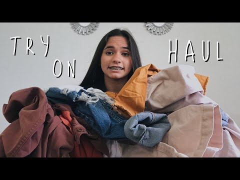 TRY-ON HAUL (forever, garage, gap...)