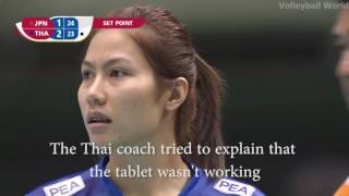 Video The sad story of the Thai women's volleyball MP3, 3GP, MP4, WEBM, AVI, FLV Juni 2019