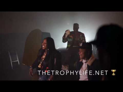 "Phresher, Remy Ma, Young M.A., & Casanova BTS Of ""Wait A Minute"" RMX With Flowtastic!!!"